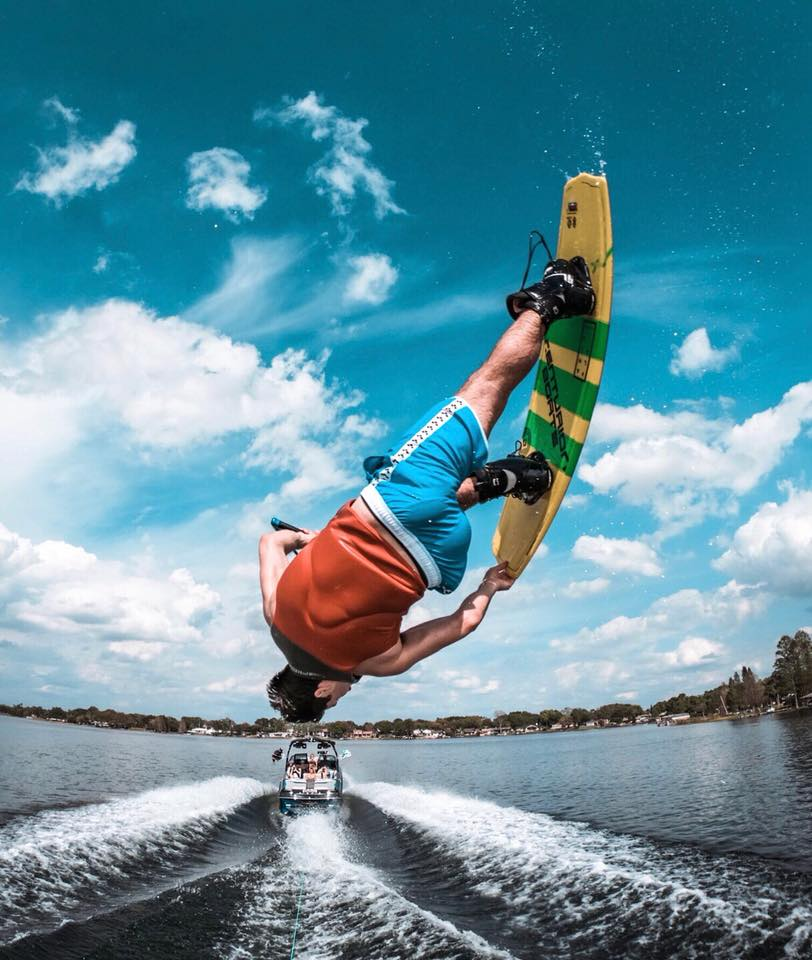Most Amazing Go-Pro Wakeboarding shot ever!