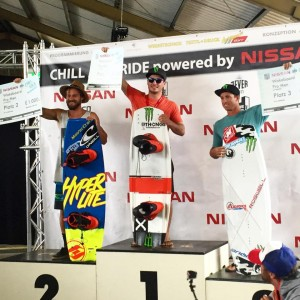 Chill & Ride 2015 podium