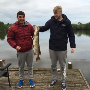 Fishing on Lough Sillan